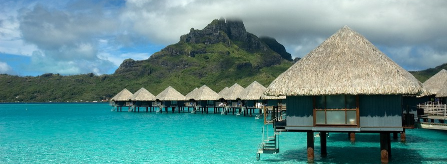 Overwater Bungalows In Bora Bora