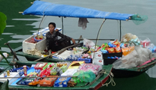 Halong Bay Floating Market