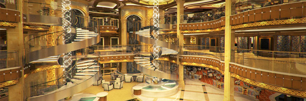 Royal Princess Atrium