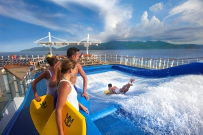 Flowrider on the Harmony of the Seas