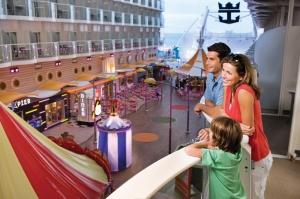 Harmony of the Seas Boardwalk Area