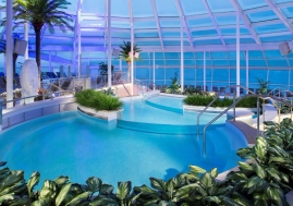Solarium on Royal Caribbean Cruises