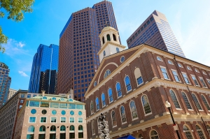Boston's Faneuil Hall on a Canada New England Cruise