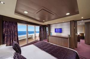 MSC Seaside Suite