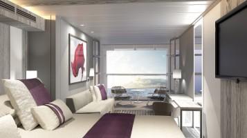Celebrity Edge Staterooms with Infinite Veranda View