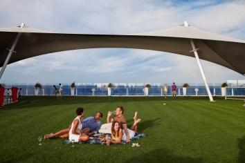 Celebrity Silhouette Lawn Club