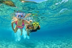 Dive underwater