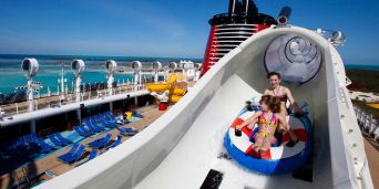 Disney Cruise Line: Water Slides