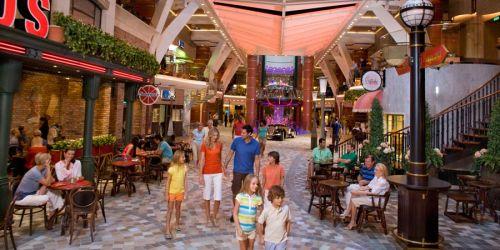 Royal Caribbean Cruises: Promenade Activities