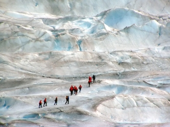 Alaskan Glacier Hiking