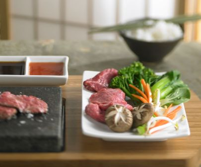 Izumi, Restaurant, Food and Beverage, Dining, Japanese Food and Beverage, sushi, Hot Rock Concept and Sauces, Beef