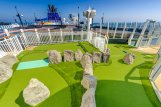 Mini Golf on Norwegian Bliss