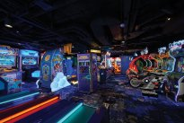 Video Arcade on Norwegian Bliss
