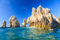 The famous arch of Cabo San Lucas, Mexico