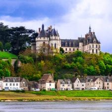 Loire valley, Chaumont-sur-loire castle and village