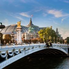 Grand Palais, Paris, Alexandre Bridge.