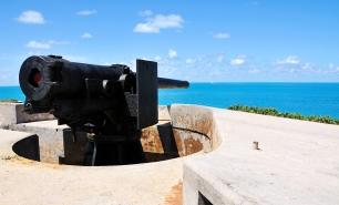 Fort Hamilton cannon