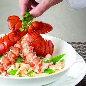 龙虾意大利细面条